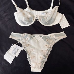 La Perla bra and matching panties